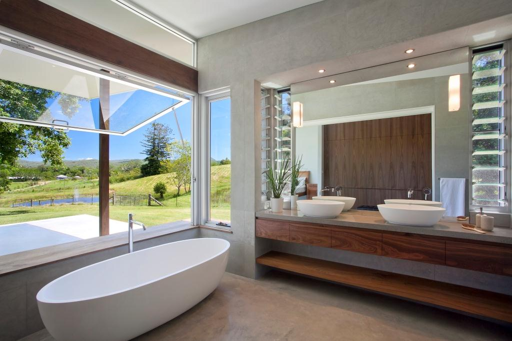 Breezway altair louvre windows in bathrooms and laundries for Best windows in the world