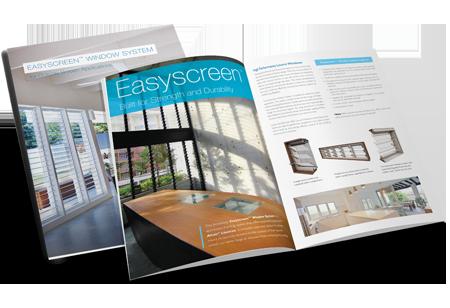 Breezway Altair Louvre Easyscreen Window Brochure