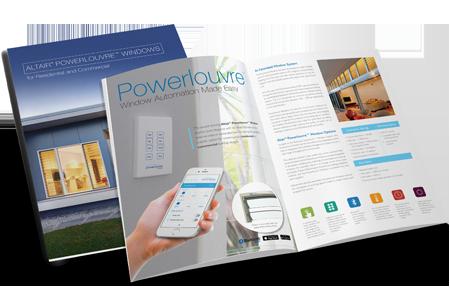 Breezway Altair Powerlouvre System Brochure