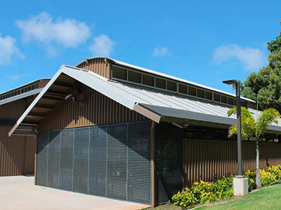 School Creative Arts Centre, Powerlouvre, Hawaii