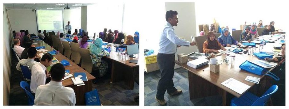 Product Training to Ministry of Education Malaysia