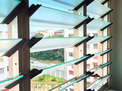 High Rise Apartment, Replacing Nako Louvres
