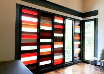 Internal show of Breezway Louvres in Bungalow