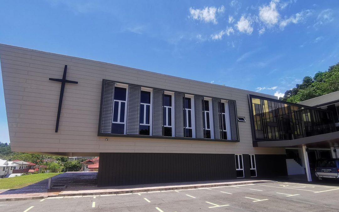 Catholic Church with Breezway Louvres